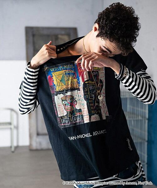 【glamb(グラム)】Basquiat CS バスキアカットソー(GB15ANV-BQ08)