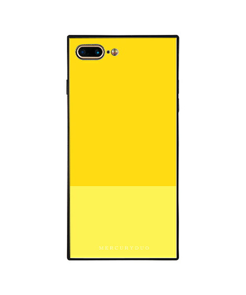 【Gizmobies(ギズモビーズ)】MERCURYDUO iPhone7.8Plus背面ケース BI COLOR LEMON(BJ-0004-IP7P-YELL)