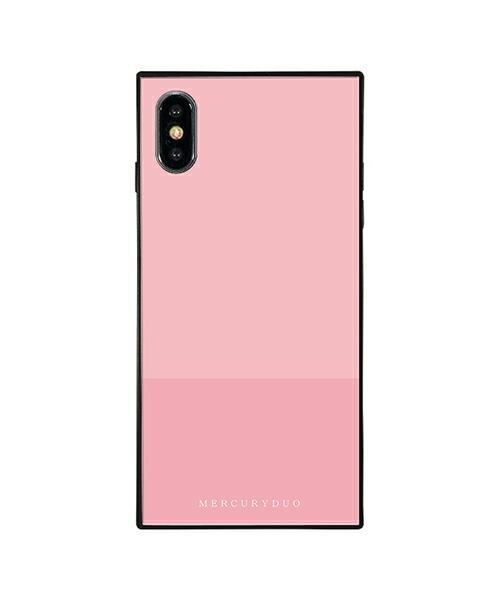 【Gizmobies(ギズモビーズ)】MERCURYDUO iPhoneXS MAX背面ケース BI COLOR PEACH(BJ-0004-IPXM-PINK)