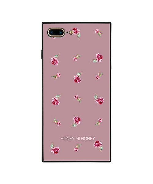 【Gizmobies(ギズモビーズ)】HONEY MI HONEY iPhone7.8Plus背面ケース PINK ROSE PINK(AB-0956-IP7P-LILA)