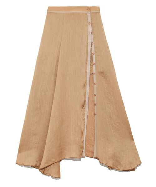 【Lily Brown(リリーブラウン)】スカートレイヤードショートパンツ(LWFP191112)