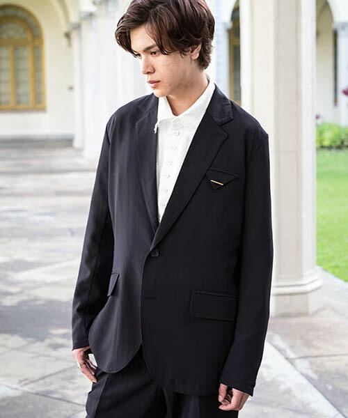 【glamb(グラム)】 Fabrica easy tailored JKT ファブリカイージーテーラードジャケット(GB0219-JKT04)