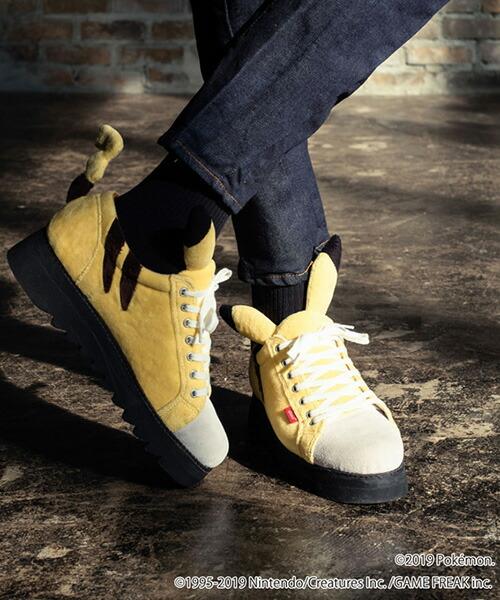 【glamb(グラム)】Pikachu sneakers ピカチュウスニーカー(GB0119-PK20)