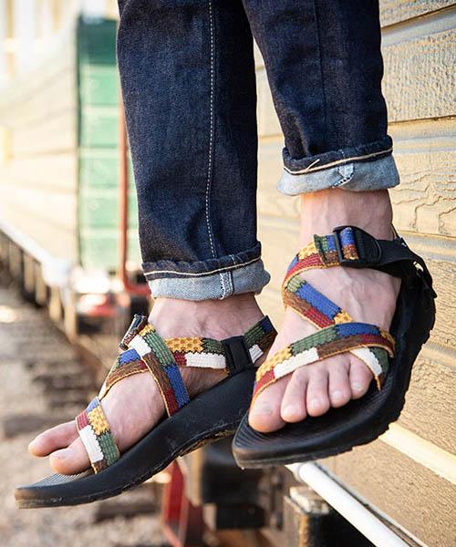 【glamb(グラム)】 Gaudy sandals by Chaco ガウディサンダルバイチャコ(GB0219-AC01)