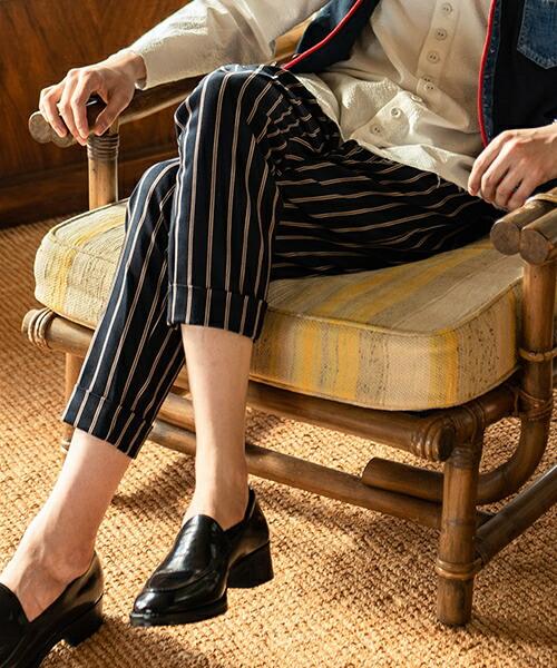 【glamb(グラム)】 Bellman cropped pants ベルマンクロップドパンツ(GB0219-P04)