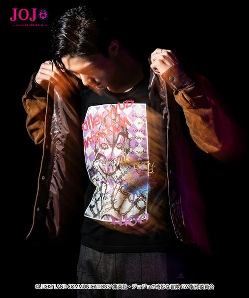 【glamb(グラム)】Pannacotta Fugos stand T パンナコッタ・フーゴズスタンド Tシャツ(GB0318-JJ04)