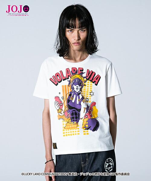 【glamb(グラム)】Narancia Ghirga T ナランチャ・ギルガ Tシャツ(GB0119-JJ04)