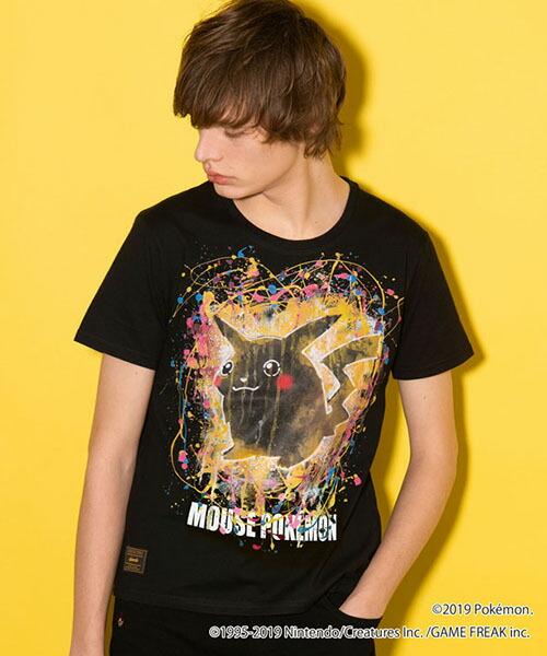 【glamb(グラム)】Pikachu T ピカチュウTシャツ(GB0119-PK05)