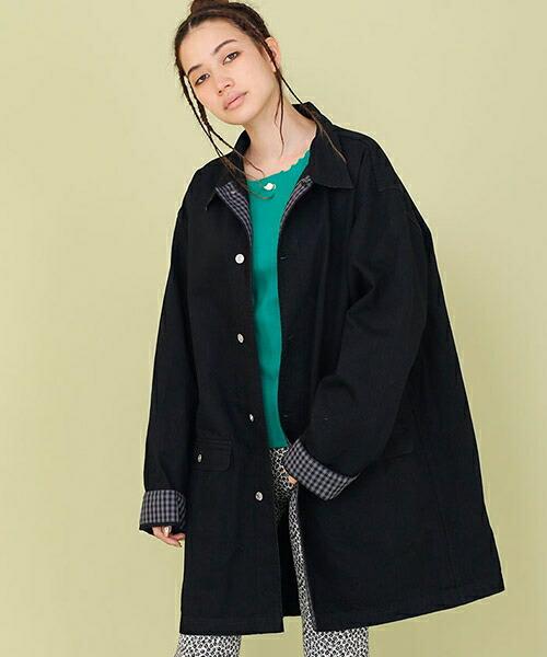 【Little sunny bite(リトルサニーバイト)】Denim flill jacket デニムジャケット(LSB-LJK-103L)
