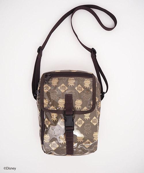 【Little sunny bite(リトルサニーバイト)】LSB original Kermit nylon shoulder bag ショルダーバッグ(LSB-LG-163L)