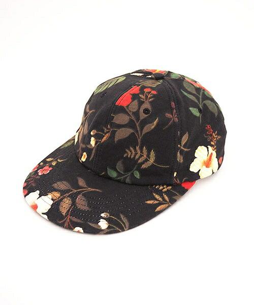 【Little sunny bite(リトルサニーバイト)】little sunny bite ×Clap Clap hibiscus print cap キャップ(LSB-LG-161L)