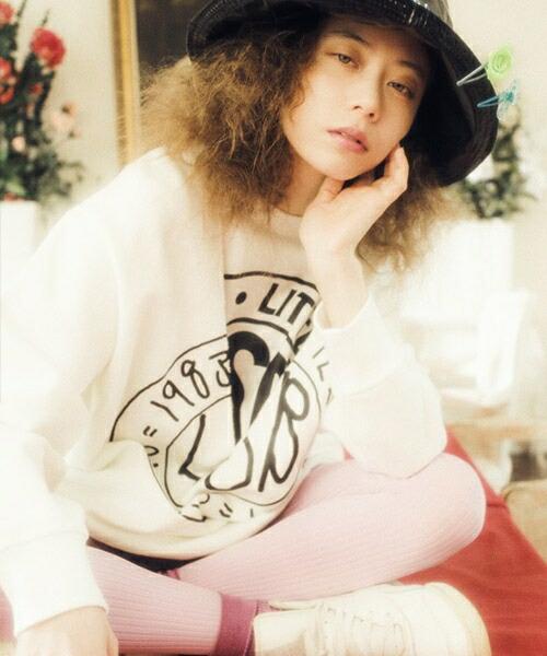 【Little sunny bite(リトルサニーバイト)】Layered sweater スウェット(LSB-LTOP-119L)