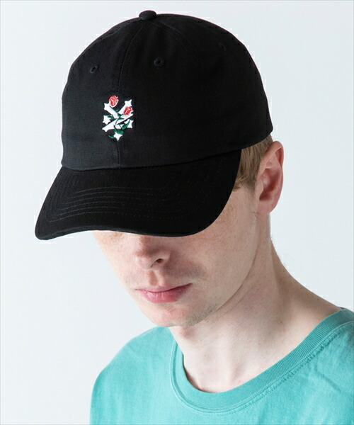 【rehacer(レアセル)】×ZOOYORK Flower  nyc logo Cap キャップ(1191800002)