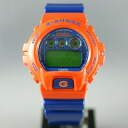 Casio Color Crazy crazy colours (Orange / Blue) DW-6900SC-4JF