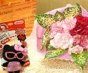 계절의 꽃 미니 우유 BOX 꽃꽂이 (꽃) & 헬로 키티 (안경) 마스코트 세트 FL-AR-293