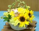 コブタ 스트랩-해바라기 계절 꽃 꽃 바구니 어레인지 (꽃) FL-AR-298
