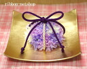 "Silk flower (artificial flower) Japanese style ring pillow ""Zipangu"" FL-WG-263"