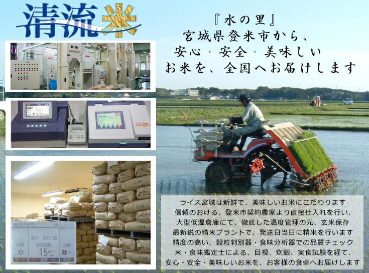 平成28年度宮城県登米産ササニシキ 登米市内の契約農家から直接仕入れ検査一等米のみ販売します