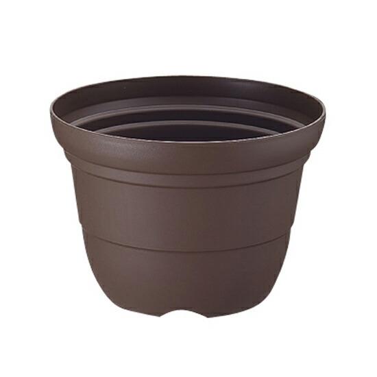 カラーバリエ 輪鉢9号 コーヒーブラウン(CB)