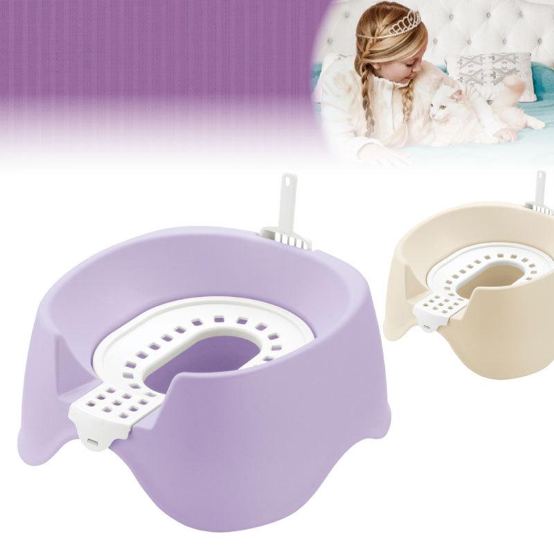 コロル 節約簡単ネコトイレ
