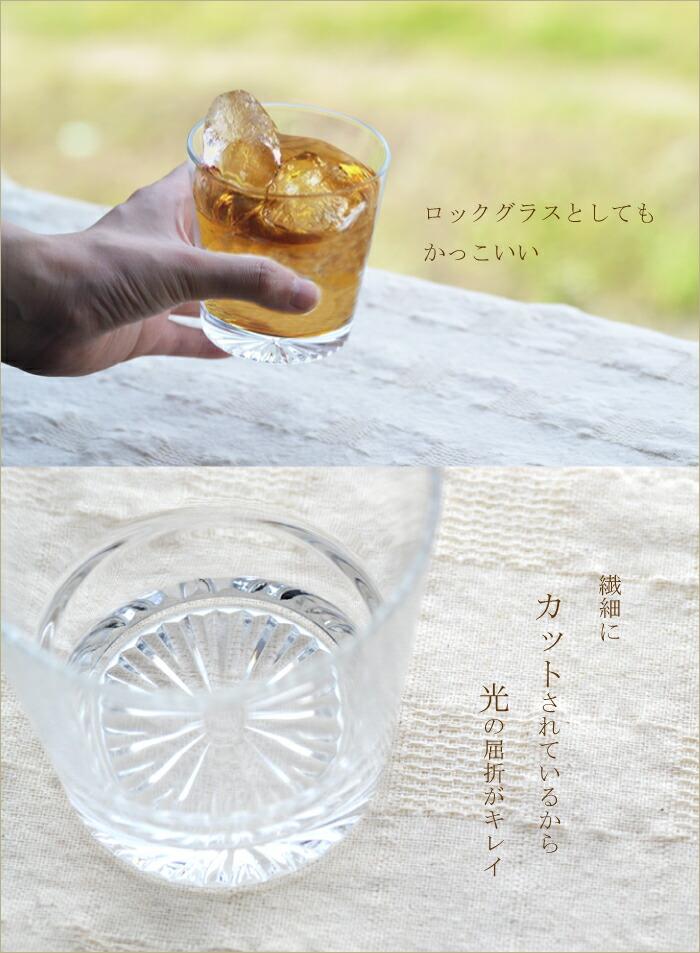 ロックグラスとして使用した際のイメージ画像