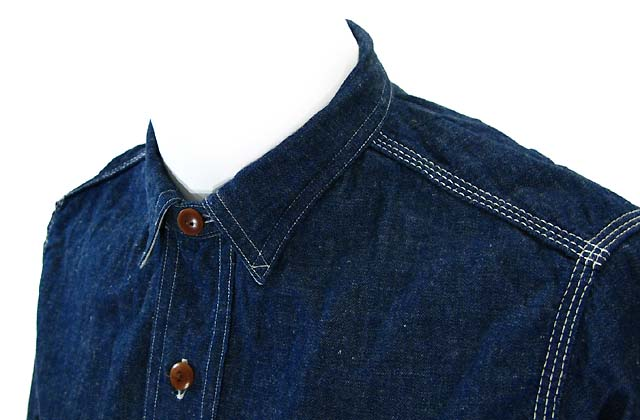 サニースポーツ LINEN DENIM 40's Shirts