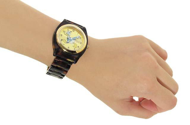 ドナルド 腕時計 着用