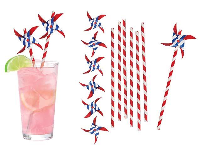 Paper Straws Pinwheel #2929PI