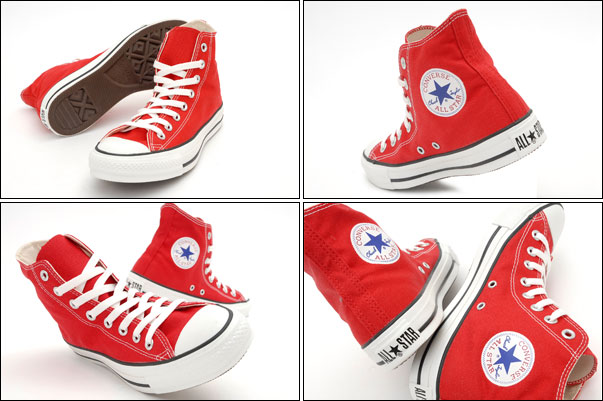Converse All Star Total Red