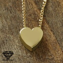 Love in Heart ハートゴールドネックレス /SV925 ※ reservation products *