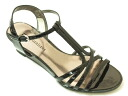 SALE! ☆ 40%OFF ☆ Naturalizer wedge sandals N441 black enamel