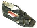 SALE! ☆ 30% off ☆ SALON DE GRES comfort Sandals 16004 black
