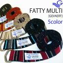 Random ユーロマルチボーダー belt - stylish-ring belt