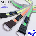 Men Lady's double ring /RIVER - Neon Belt (neon belt) [GEVAERT-Gewalt] to improve (river up) familiar in the fluorescence Gewalt belt Gewalt select shop which is usable in reversible