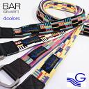 The belt length and breadth color design Gevaert belt Gevaert select shop familiar, men's, women's and ring /RIVER UP ( riverup )-Bar Belt ( Barber to ) [GEVAERT-Gevaert]