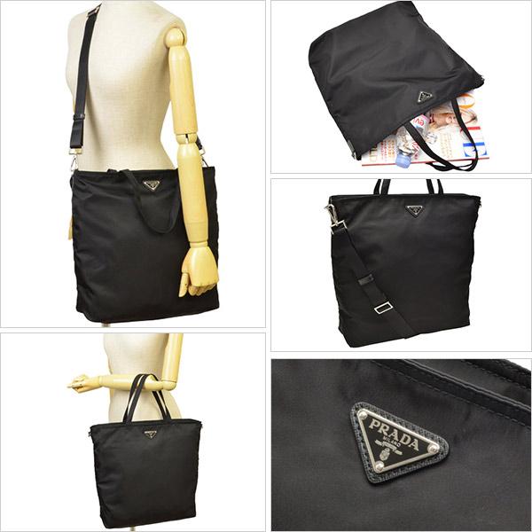black prada nylon bag - riverall   Rakuten Global Market: Prada Bags PRADA 2Way Tote ...