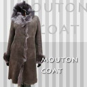 Women's Shearling coats women ladies 5 hook Shearling coat mouton coat