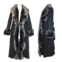 Most popular items! Takehara closing original! Women's Shearling coats! MTO, takehara closing original long Shearling coats fur / Mouton / coat and long coat / ladies / Sheepskin coat