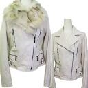 ウォッシン Leather Womens jacket