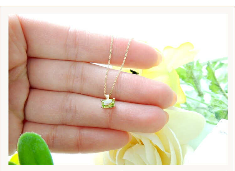 Ivy  レクタングル ネックレス k10