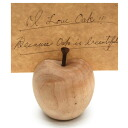■ Inc.(La Luz la Luce) ■ リンゴカード holder L Maple (display gadgets, gadgets Cafe, and wooden picture frames)-+ natural-