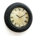 Rose wall clock (BX-84) (clock, display goods, and European antique gadgets)-antique +-
