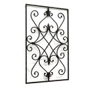 Wall Deco square (BE-03) (iron, wall decorations, display gadgets, gadgets Cafe wall)-antique +-