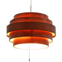 ■ RING (rings) pendant light L Brown (LED ceiling lighting and wood lighting light dining wood design indirect light pendant pendant light fashionable style living)-natural +-