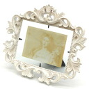 ■ goodygrams ■ white photo frame IARA M antique picture frames display gadgets luxury classic classical Shabby Chic album memories Interior gadgets Cafe decor design frame