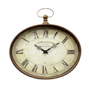 Galleria オーバルク rock (BM-65) (wall clock wall clock Cafe gadgets antique gadgets Shabby Chic wall clock French country retro European)-antique +-