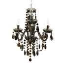 Maestro (maestro) chandelier black (illumination, ceiling illumination, European sea ringlight, pendant light, living, cafe, design illumination, interior illumination, lighting equipment)
