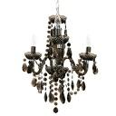 Maestro (Maestro) chandelier black (lighting, ceiling lighting, European, ceiling lights, pendant lights, living, cafe, design lighting, interior lighting, light fixtures)