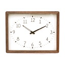 ■ La Luz Inc. (La Luce) ■ Champagne Clock シャンパーニュク clock (clock wall clock wooden simple tabletop solid material public facility platform school glass quiet bedroom living clock Interior natural)