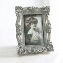 Antique silver frame S (KB-47) (décor, Shabby Chic, photo frames, European, display goods, albums, memories, photo, classical, Interior goods, antique, display goods)